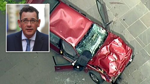 Daniel Andrews set to announces changes to Victorian bail laws following the Bourke Street Mall attack. (AAP)