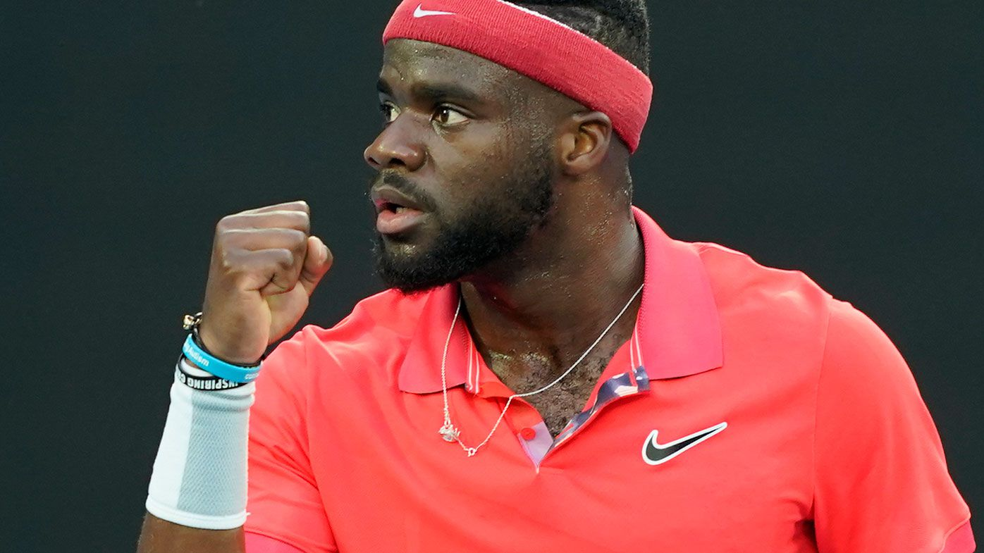 American tennis star Frances Tiafoe says some people don't want black players to succeed