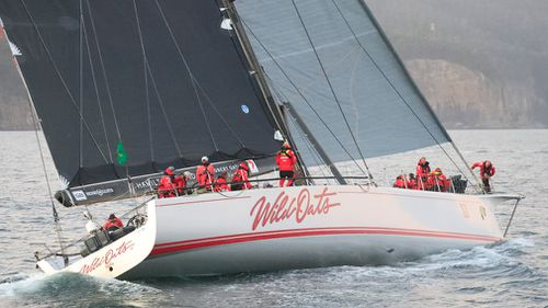Wild Oats won the Sydney to Hobart for the ninth time. (AAP)