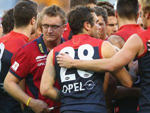 Marl Neeld has been sacked as coach of Melbourne. (Getty-file)