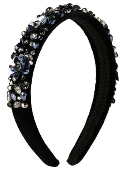 "Miss Shop multi stone headband, $19.95 at <a href=""https://www.myer.com.au/shop/mystore/ms-accessories/multi-stones-headband-499865230-499845160"" target=""_blank"" draggable=""false"">Myer</a><br>"