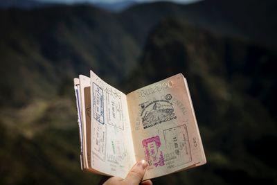 Passport damage
