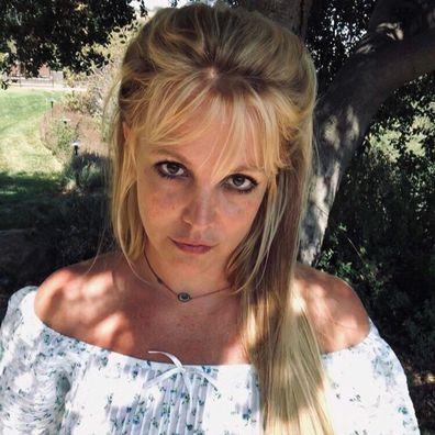Britney Spears, Instagram, selfie