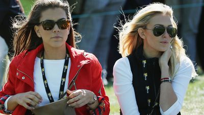 <strong>Annie Verret and Paulina Gretzky</strong>