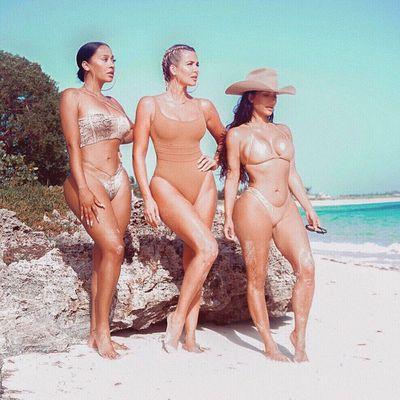 La La Anthony, Khloé Kardashian and Kim Kardashian