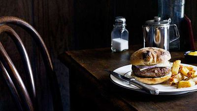 "<p>Recipe: <a href=""http://kitchen.nine.com.au/2016/05/16/17/03/april-bloomfield-lamb-burger"" target=""_top"" draggable=""false"">April Bloomfield's lamb burger with triple-cooked chips</a></p> <p>Whether you're teaming them with burger or devouring them on their own, French fries&nbsp;—&nbsp;or 'chips' as we call them here&nbsp;— never fail to satisfy with their crispy, salty exterior.<br> Check out our favourite chip recipes and chip companions, including Michelin-starred chef April Bloomfield's triple cooked chips, for International French Fries Day (July 13).</p>"