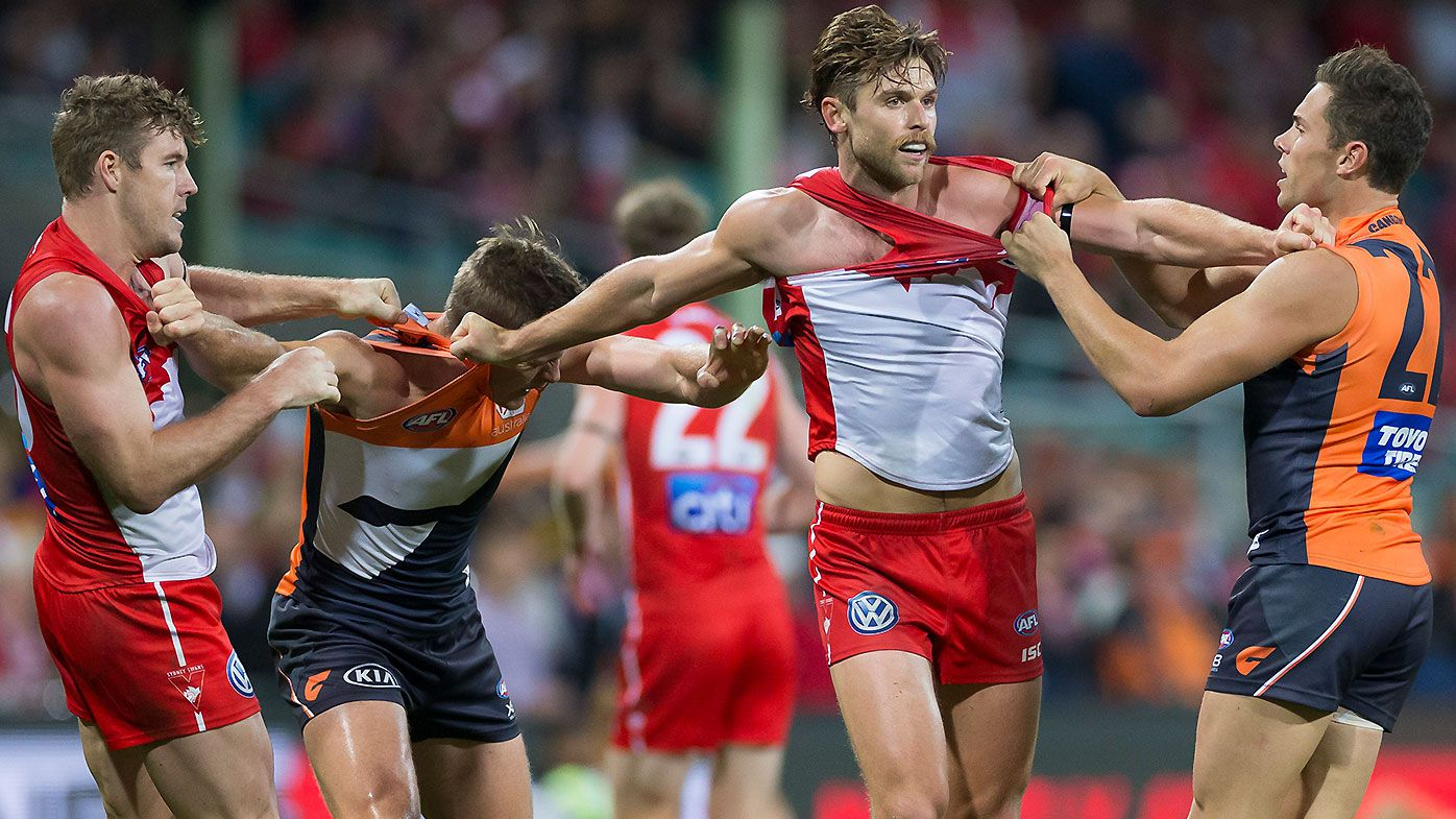 GWS Giants stars shine in dominant win over Buddy-less Sydney Swans