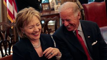 Hillary Clinton and Joe Biden served together in the Senate and the Obama Administration.