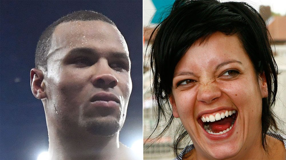 Pop star Lilly Allen makes fun of Chris Eubank Jr for being adopted in Twitter beef