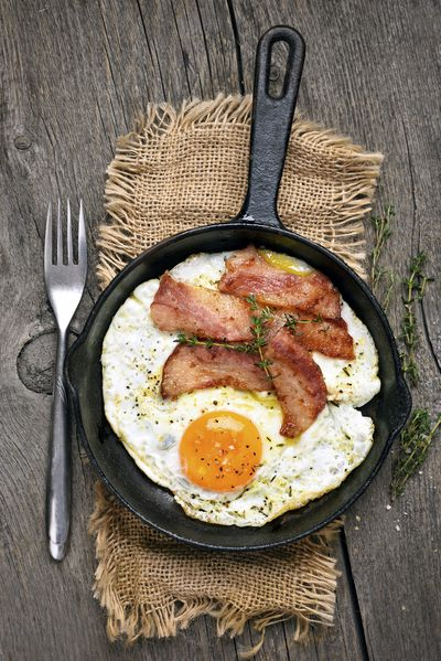<strong>Eggs (and bacon!)</strong>