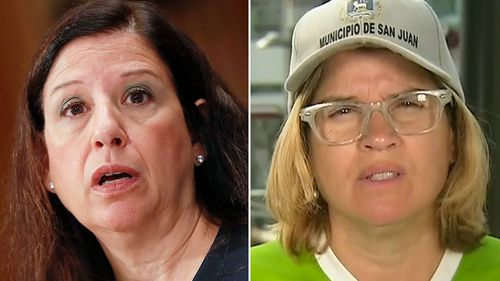 Acting Director of Homeland Security Elaine Duke testifies before a senate committee on September 27. (AP)