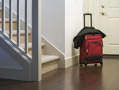 4. Put everything you'll need for tomorrow at your front door