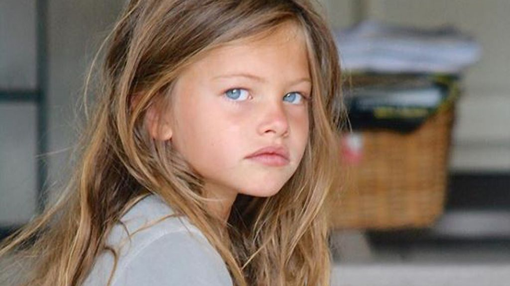 Thylane, aged six. The most beautiful girl in the world. Image: Instagram/@thylaneblondeau