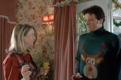 Christmas advent movies calendar,  Bridget Jones's Diary, Renée Zellweger, Colin Firth