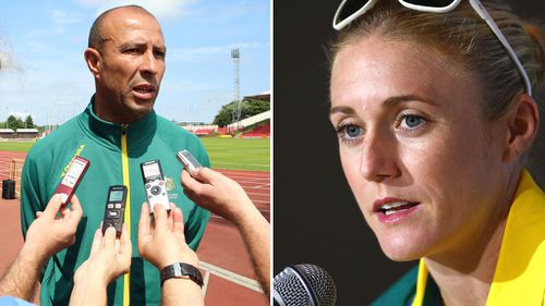 Hollingsworth was criticised for releasing a statement ahead of Pearson's hurdling event.