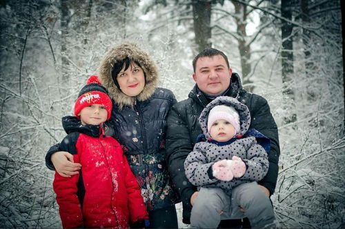 His mum Olesya, 30, dad Evgeny and four-year-old sister Ksenia all died in the fire. (The Siberian Times)