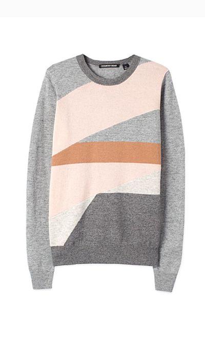 "<a _tmplitem=""19"" href=""http://www.countryroad.com.au/shop/woman/clothing/knitwear/terrazzo-intarsia-knit-60178355""> Terrazzo Intarsia Knit, $99.95, Country Road</a>"