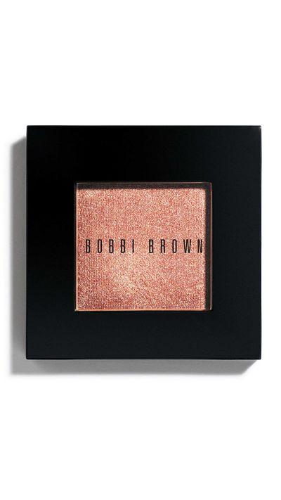 "<a href=""http://www.bobbibrown.com.au/product/2330/8197/Makeup/Eyes/Eye-Shadow/Eye-Shadow/New-Shades "" target=""_blank"">Sheer Bright Eyeshadow in Burnt Rose, $42, Bobbi Brown.</a>"