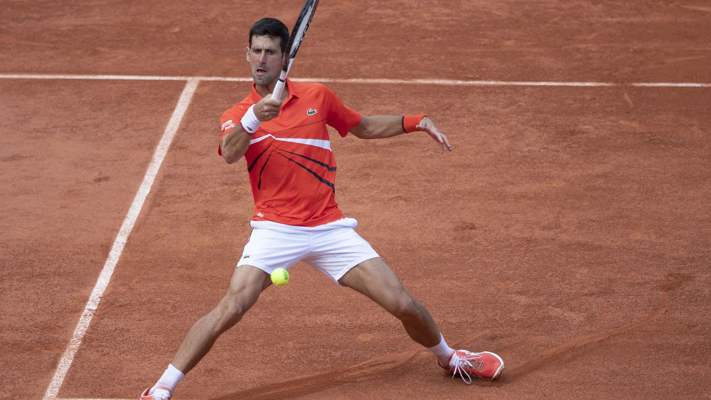 Novak Djokovic sets up semi final with Thiem at French Open