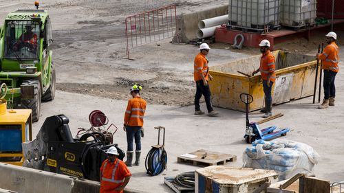 Barangaroo construction site