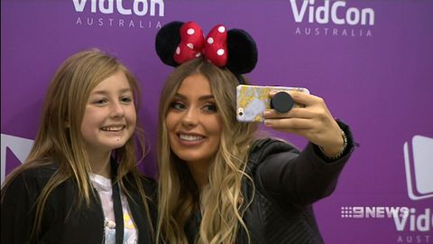 YouTube stars meet their Australian fans