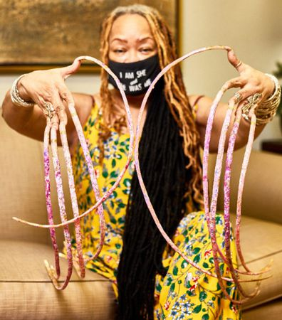 Ayanna Williams of Houston broke the Guinness World Record for the world's longest fingernails in 2017  measurement