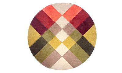 Shake things up with these rich jewel-toned and '70s inspired rug offerings.