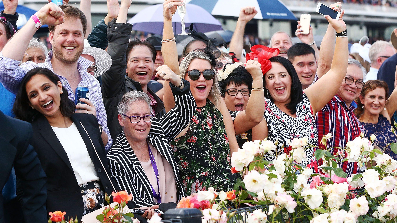Melbourne Cup racegoers