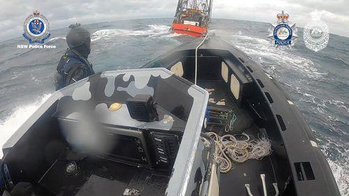 Australians seize cocaine haul in boat at sea, arrest 3 men