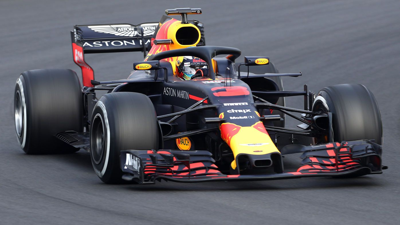 Australia's Daniel Ricciardo leads times and laps in new Red Bull car for F1 testing