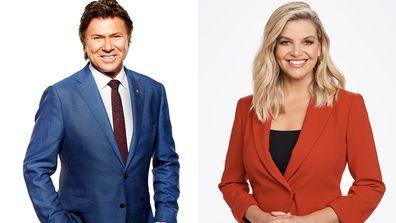 Richard Wilkins will host Weekend Today alongside Rebecca Maddern