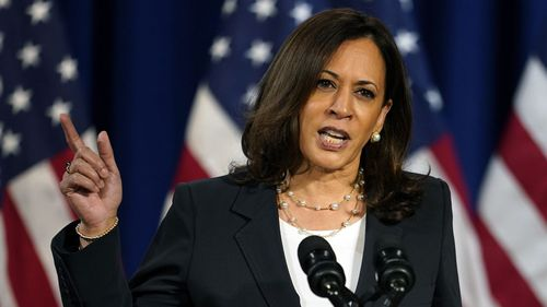 Kamala Harris served as a district attorney, the California attorney-general and a senator before being selected as Joe Biden's running mate.