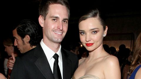 Miranda Kerr Evan Spiegel wedding