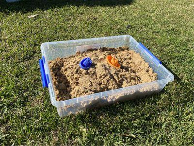 Kids Sand Pit - $10