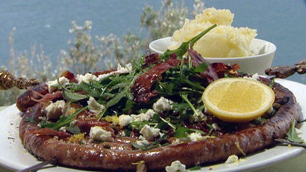 Mediterranean sausage coil