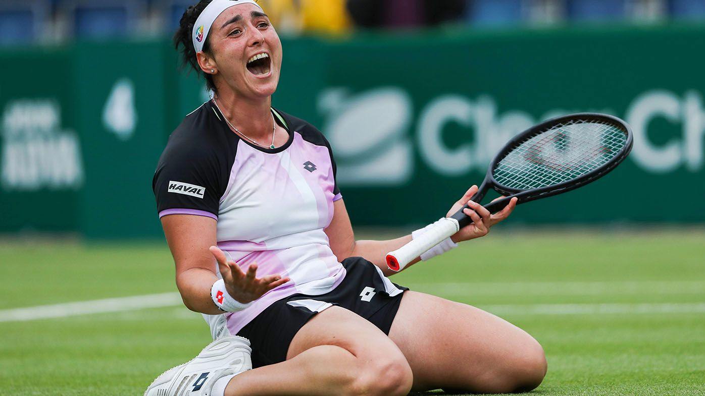 Ons Jabeur becomes first Arab woman to win WTA title with Birmingham triumph
