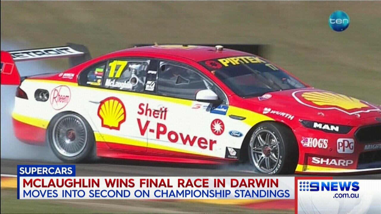 McLaughlin moves to second in Supercars