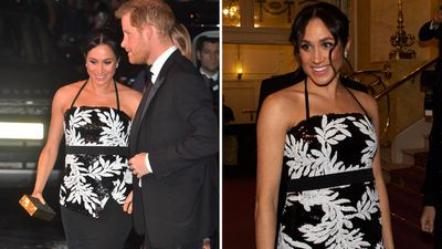 Prince Harry and Meghan Markle attend the Royal Variety Performance, November 2018