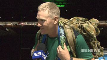 Veteran marches for 42 hours to raise money for Brisbane memorial