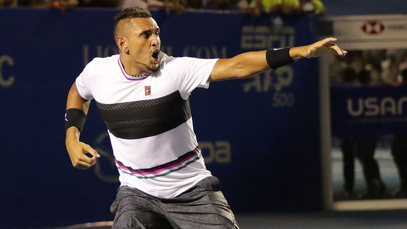 Nick Kyrgios fires back at Rafael Nadal's criticism: 'I won't listen'