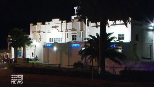 The Palais Hotel in Port Adelaide.