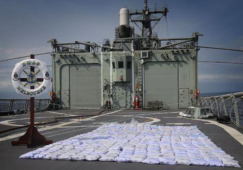Australian warship makes 2nd big drug bust