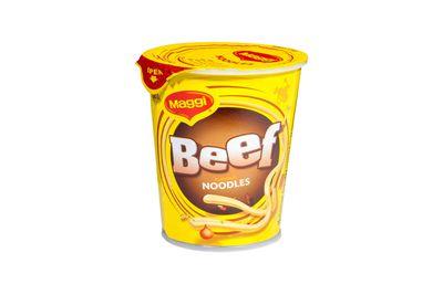 Maggi beef noodles: 1020kj/244 calories