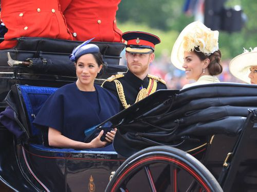 Trooping the Colour: Meghan Markle's first appearance since giving birth