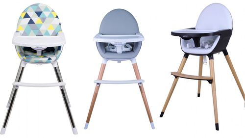National recall for three baby high chairs sold at Big W, Target