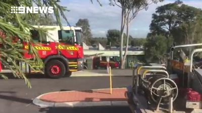 Truck crashes into Perth primary school