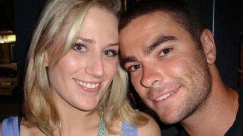 Morgan Huxley and ex-girlfriend Jess Hall.