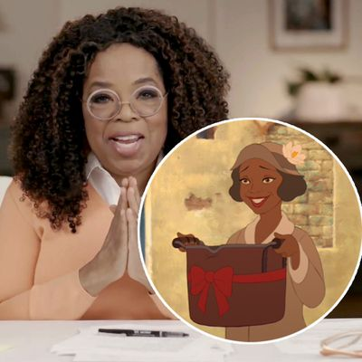 Oprah Winfrey as Eudora in Princess and the Frog