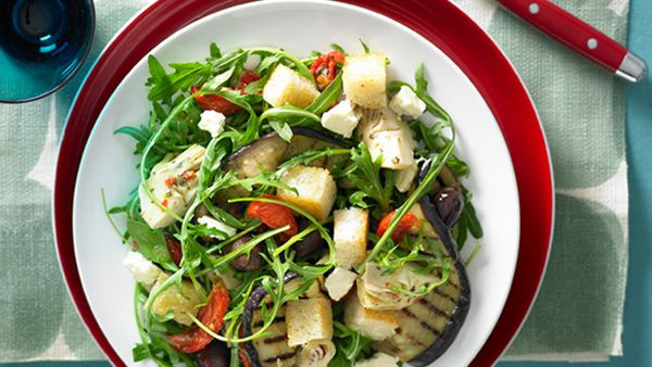 Char-grilled vegetable salad for $9.40