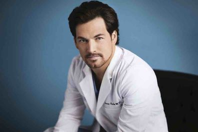 Grey's Anatomy stars Giacomo Gianniotti as Andrew DeLuca